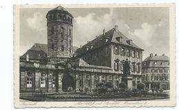 Germany Postcard Bayreuth Alte Schlofs Mit Staute Maximillian 11 - Bayreuth