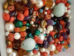 Lot De Perles Dont Semi-précieuses - Jewels & Clocks
