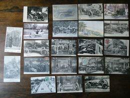 """Carte Postale """"AUTOMOBILE"""" Lot De 21 Bonnes Et Très Bonnes Cartes - Cartes Postales"""