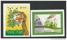 "ITALIA/ ITALY/ ITALIEN/ ITALIE - EUROPA 2016 - TEMA ANUAL ""ECOLOGIA -EL PENSAMIENTO VERDE -THINK GREEN"".- SERIE De 2 V. - 2016"