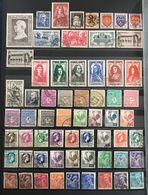 1944 (°) Oblitérés Année Complète 1944 YT 599 à 668 - 70 Valeurs (côte 95 Euros) – 4bleu - Francia