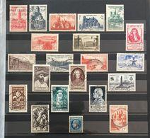 1947 (°) Oblitéré Année Complète 1947 YT 772 à 792 21 Valeurs (côte 25 Euros) – 4bleu - Francia