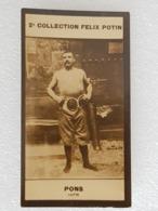 Collection Félix Potin - Paul Pons - Lutteur - Wrestler - Ringer - Unclassified