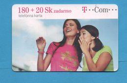 SLOVAKIA  Chip Phonecard - Slovaquie