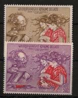 Laos - 1974 - Poste Aérienne PA N°Yv. 114 Et 119 - UPU - Neuf Luxe ** / MNH / Postfrisch - Laos
