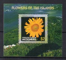 MICRONESIA - MICRONESIE - 2005 - FLEURS - FLOWERS - M/S - B/F - - Micronésie