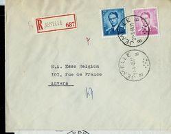 Doc. De JEMELLE - B B - Du 21/05/65  En Rec. - Marcophilie