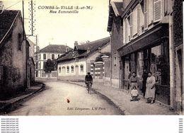77 . Seine Et Marne .  Combs La Ville . Rue Sommeville . - Combs La Ville