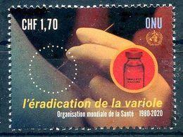 ONU Genève 2020 - OMS WHO Smallpox L'éradication De La Variole ** - Neufs