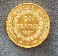 Pièce Or 20 Francs 1897 - Oro