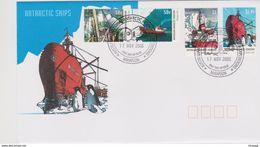 Australian Antarctic Territory 2003 Ships ,Mawson Base, FDC - FDC