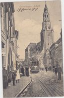 Groningen - Kerk (met Tram In Stadsbeeld) - Groningen