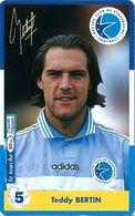 Carte Prépayée - Racing Club De Strasbourg / Teddy Bertin - TBE 3000 Ex. - 31/01/2000 - France