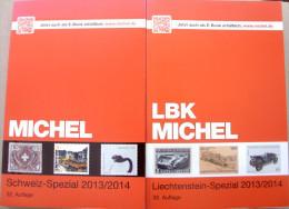 Michel, 2013-14, Schweiz- Liechtenstein Spezial, Neuwertig, NP 68,00 €, Versand DE 4,8 € - Postzegelcatalogus