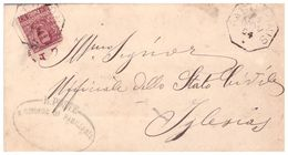 Pabillonis. 1904. Annullo Di Collettoria Ottagonale PABILLONIS + OvaleIL SINDACO... , Su Lettera  Con Testo. - Marcophilie