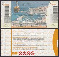 Funicular Railway AIRLIFT Ticket - 2016 DUBROVNIK Croatia - Ship Adriatic Sea - Chemins De Fer