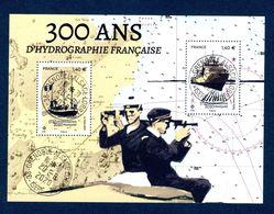 France 2020. Bloc 300 Ans D'hydrographie Française.cachet Rond Gomme D'origine - Souvenir Blocks & Sheetlets