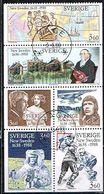 SUEDE / Obliteres / Used / 1988 - 350 Ans Fondation De La Nouvelle- Suede Au USA - Suède