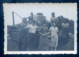 Photo Originale Camp De Malzéville Août 1935 Char Avec Officier  Du 510 RCC Nancy AVR20-171 - Guerra, Militares