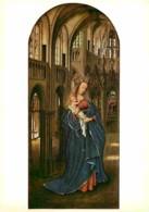 Art - Peinture Religieuse - Jan Van Eyck - Maria Mit Dem Kinde In Der Kirche - Gemaldegalerie - Berlin - CPM - Voir Scan - Tableaux, Vitraux Et Statues