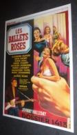 "Carte Postale : Johnny Hallyday (film Cinéma Affiche) Dossier 1413 ""Les Ballets Roses"" - Posters On Cards"