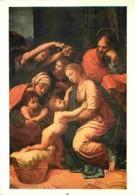 Art - Peinture - Raphael Sanzio - La Sainte Famille Dite De François 1er - CPM - Voir Scans Recto-Verso - Peintures & Tableaux
