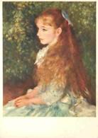 Art - Peinture - Pierre-Auguste Renoir - La Petite Irène - CPM - Voir Scans Recto-Verso - Peintures & Tableaux