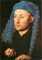 Art - Peinture - Jan Van Eyck - L'Homme Au Chaperon Bleu - Carte Neuve - CPM - Voir Scans Recto-Verso - Peintures & Tableaux