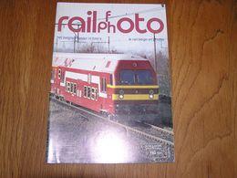 RAIL PHOTO Revue N° 7  Chemins De Fer Tram Train Tramways SNCB NMBS Locomotive Vapeur Gare - Spoorwegen En Trams