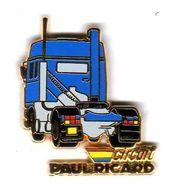 Pin's Camion Circuit Paul Ricard Zamac Arthus Bertrand - Arthus Bertrand