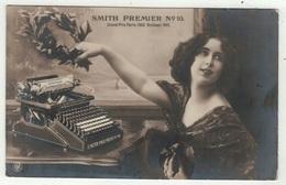 Carte Fantaisie // Femme Et Machine à écrire - Women