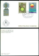 Malta 1986 Postal Stationary Stockholmia With Special Cancel - Malta