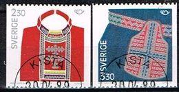SUEDE / Obliteres / Used / 1989 - Norden 89 / Costumes Traditionnels Des Pays Nordiques - Suède