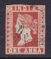 INDE - 1/2 Anna De 1854 Oblitéré FAUX - India (...-1947)