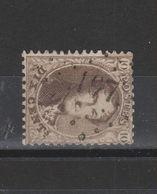 COB 14 Oblitéré Pt 197 Jemeppe - 1863-1864 Medallones (13/16)