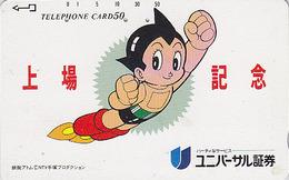 Télécarte JAPON / 110-64383 - MANGA - TEZUKA - ASTRO ATOM BOY - ANIME JAPAN Phonecard Telefonkarte - 12048 - BD