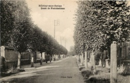 HERICY SUR SEINE ROUTE DE FONTAINEBLEAU - Altri Comuni