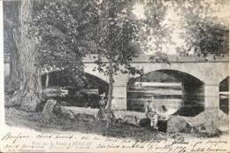 Pont Sur La Sioule à JENZAT - 1902 - France