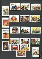 Série Anciennes étiquettes Allumettes Belgique Astérix - Boites D'allumettes - Etiquettes