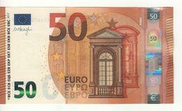50 EURO     DRAGHI    E 011 G3    EB6672278727    /  FDS - UNC - EURO