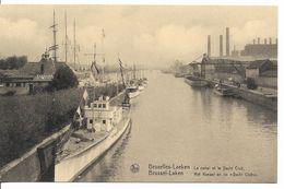 BRUXELLES (1020) - LAEKEN - YACHTING : Le Canal Et Le Yacht - Club. Cliché Rare. CPA. - Laeken