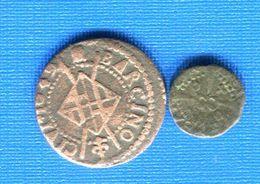 Barcelone  Espagne  2  Pieces - Monedas Provinciales