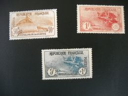 1350 FRANCE Lot Timbres ORPHELINS NEUF SG N°230 231 232     Cote 174 Euros Aspect Très Bien - France