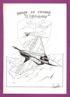 Mirage 2000-5 Groupe De Chasse Cigognes. Base 102 Dijon Longvic.  Dessin Vosgiens  95 - 1946-....: Modern Era