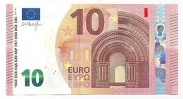 EURO GERMANY 10 XA  DRAGHI X003 UNC - EURO