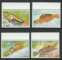 Fiji 2007 MiNr. 1198 - 1201  Fidschi-Inseln Freshwater Fishes 4v MNH** 5,80 € - Fiji (1970-...)
