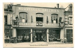 18 - Cher - Saint Amand Montrond - Nouvelles Galeries - Grand Bazar Amandois (N0601) - Otros Municipios