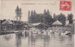CPA LUXEUIL 70 Les Iles, En Bateau - Luxeuil Les Bains
