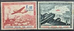 FRANCE 1941 - MNH - YT 2, 3 - Légion Des Volontaires Francais - Kriegsausgaben