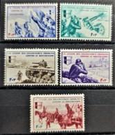 FRANCE 1942 - MNH - YT 6-10 - Légion Des Volontaires Francais - Complete Set! - Kriegsausgaben